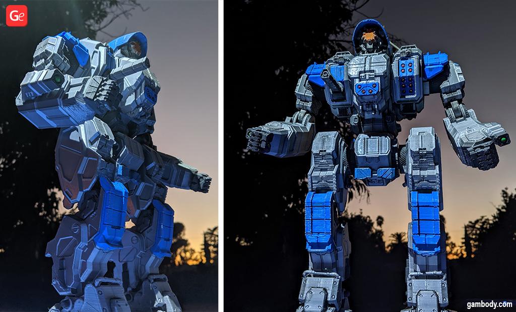 Large-scale BattleTech models Cyclops