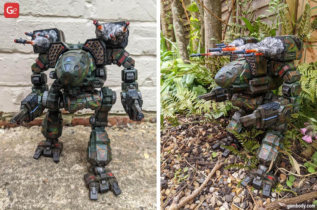 BattleTech Timber Wolf model 3D print