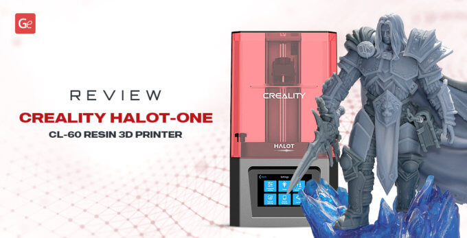 Creality Halot-One CL-60 Resin 3D Printer Unboxing and Review