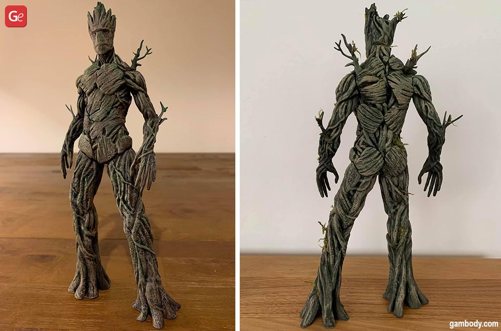 Groot MCU 3D prints