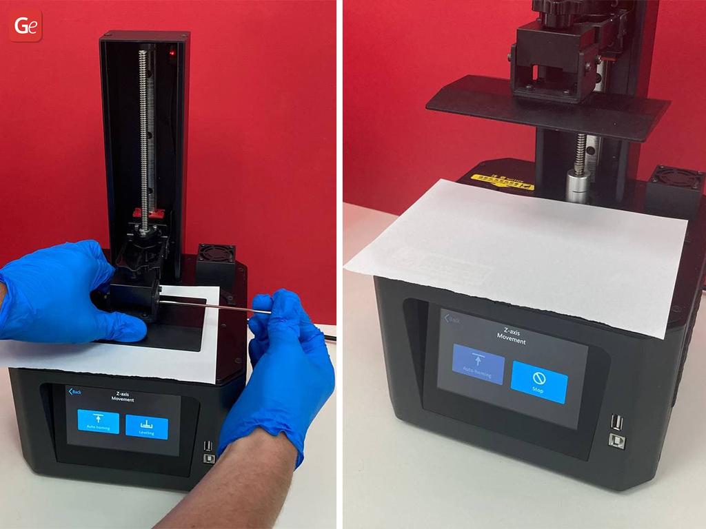 Creality Halot-One 3D printer calibration