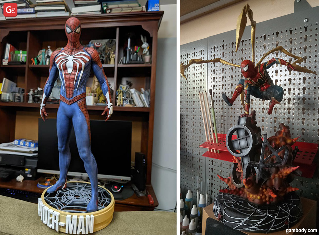 Spider-Man Marvel 3D models to print