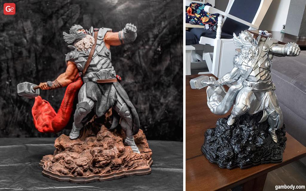 King Thor Marvel 3D printing models