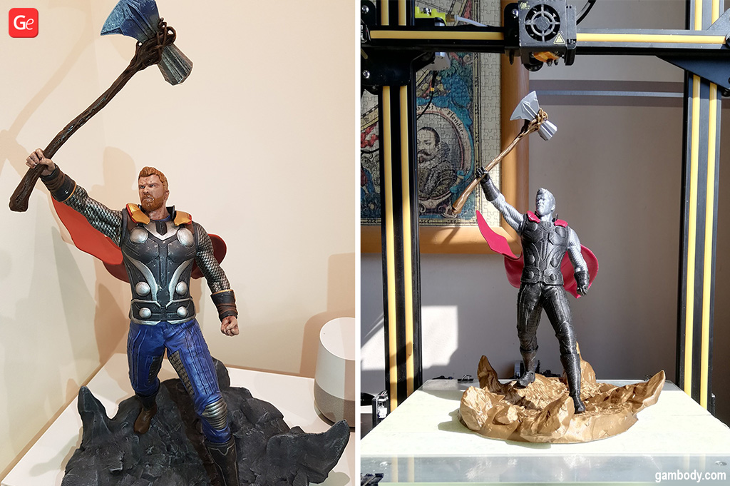 Thor with Stormbreaker 3D print