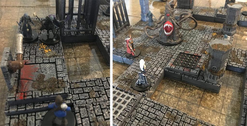 D&D stuff 3D printed