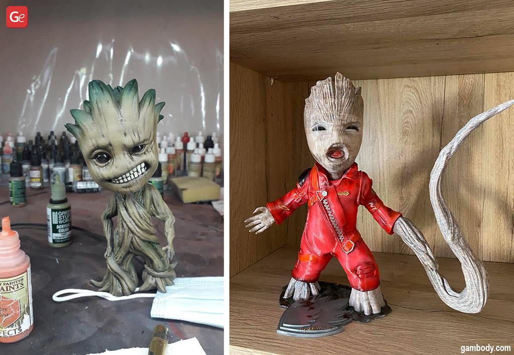 Baby Groot genius 3D printing ideas