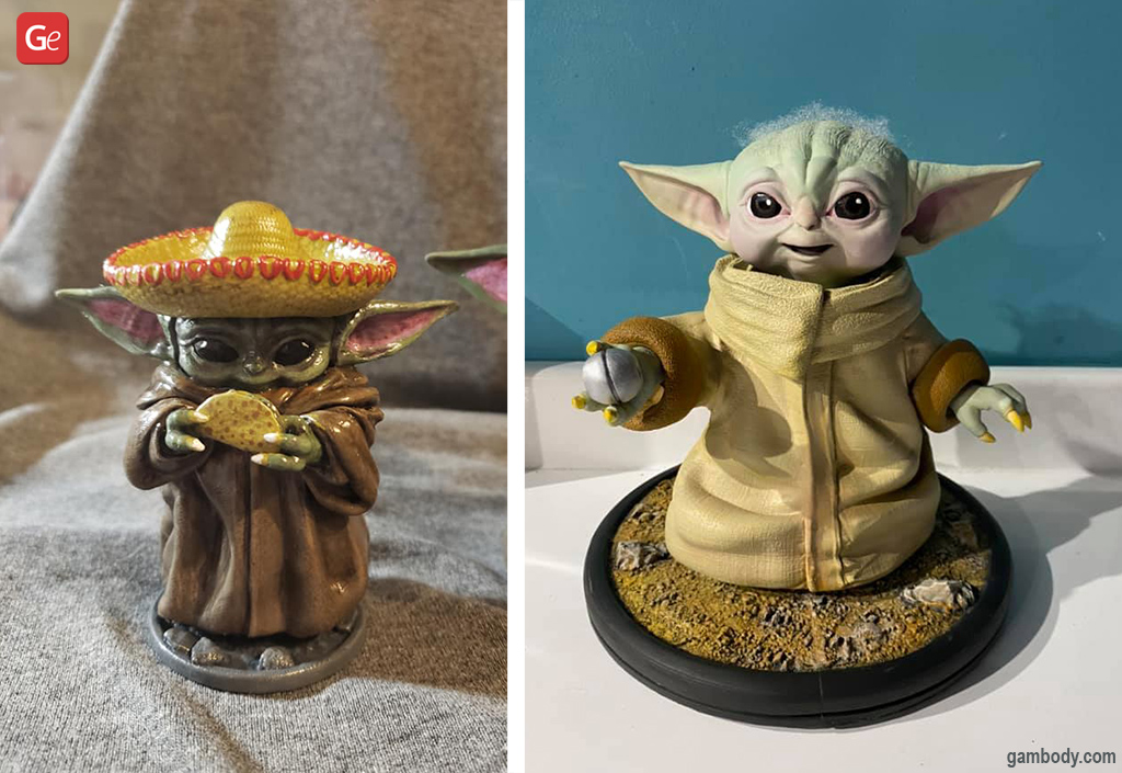 Baby Yoda what to 3D print