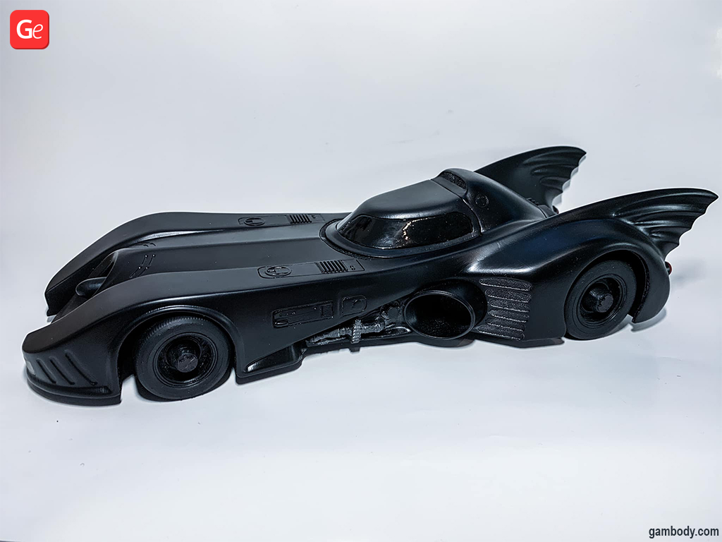 Batmobile 1989 what to 3D print today
