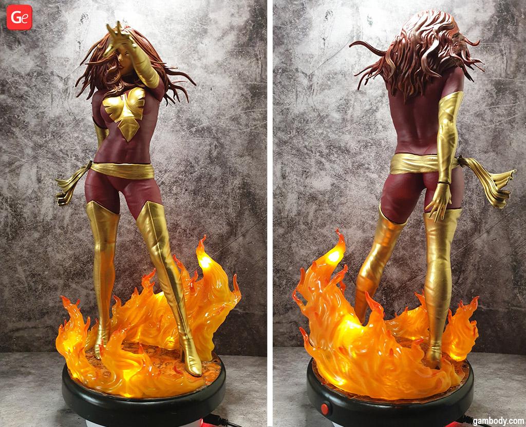 Dark Phoenix 3D print