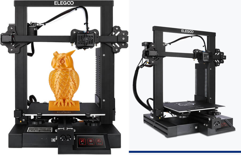 Most affordable 3D printer Elegoo Neptune 2