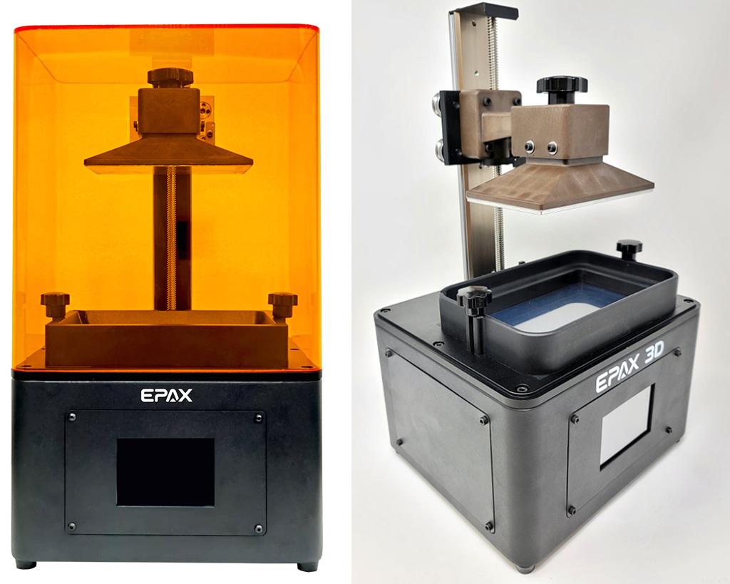 Epax E6 mid-sized 3D printer