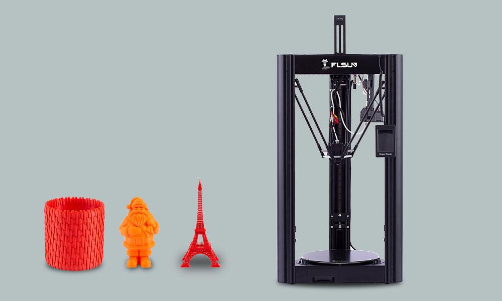 New 3D printer 2021 Flsun Super Racer (SR)