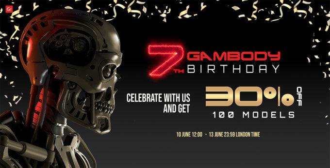 Join Gambody's 7th Birthday Celebration!