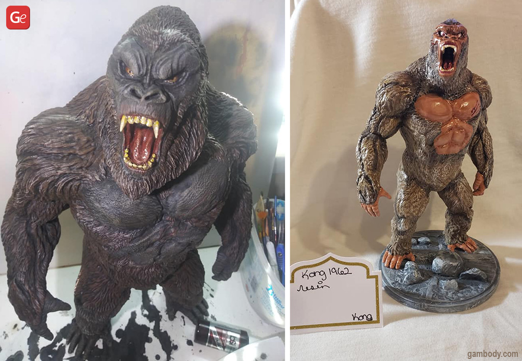 King Kong figurines what to 3D print