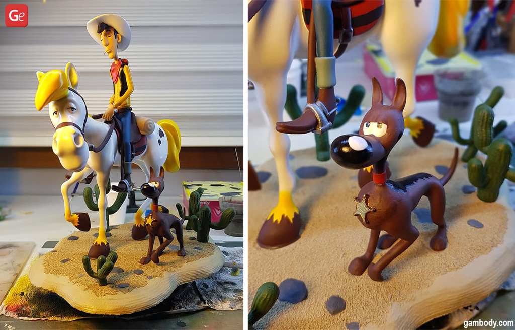 Lucky Luke what to 3D print
