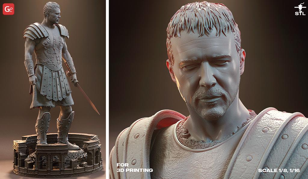 Gladiator Maximus 3D model