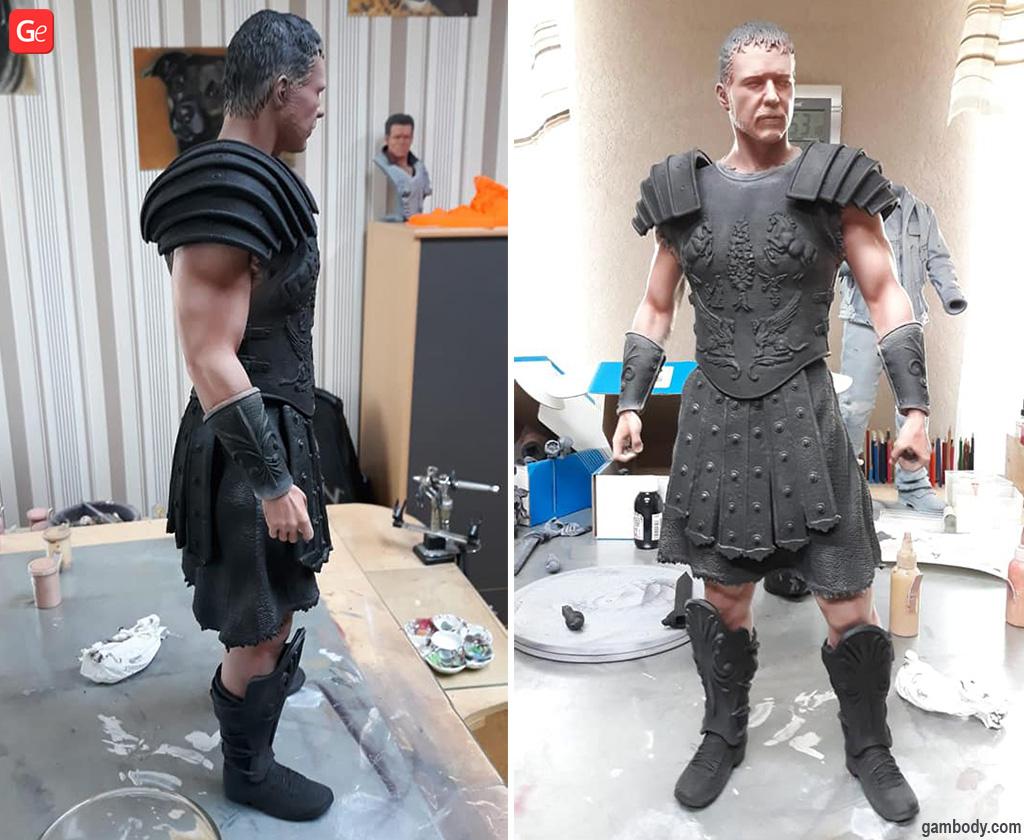 Gladiator Maximus 3D print