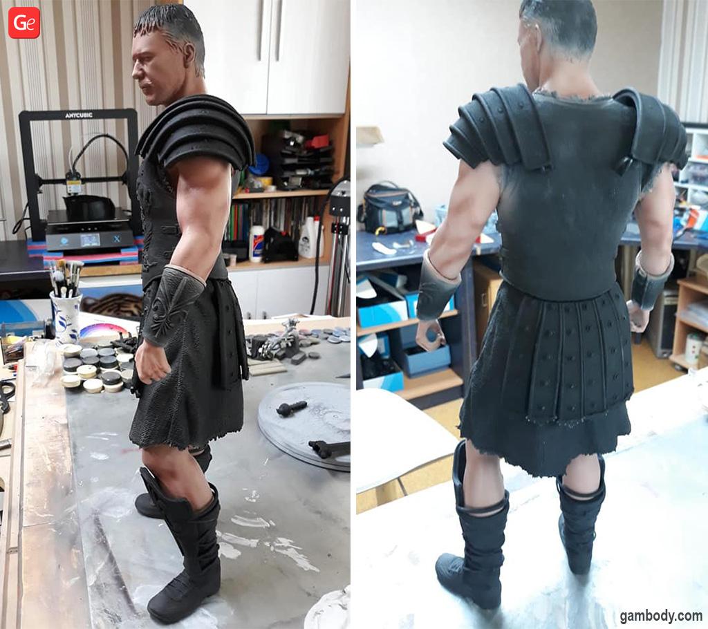 Gladiator 3D printed