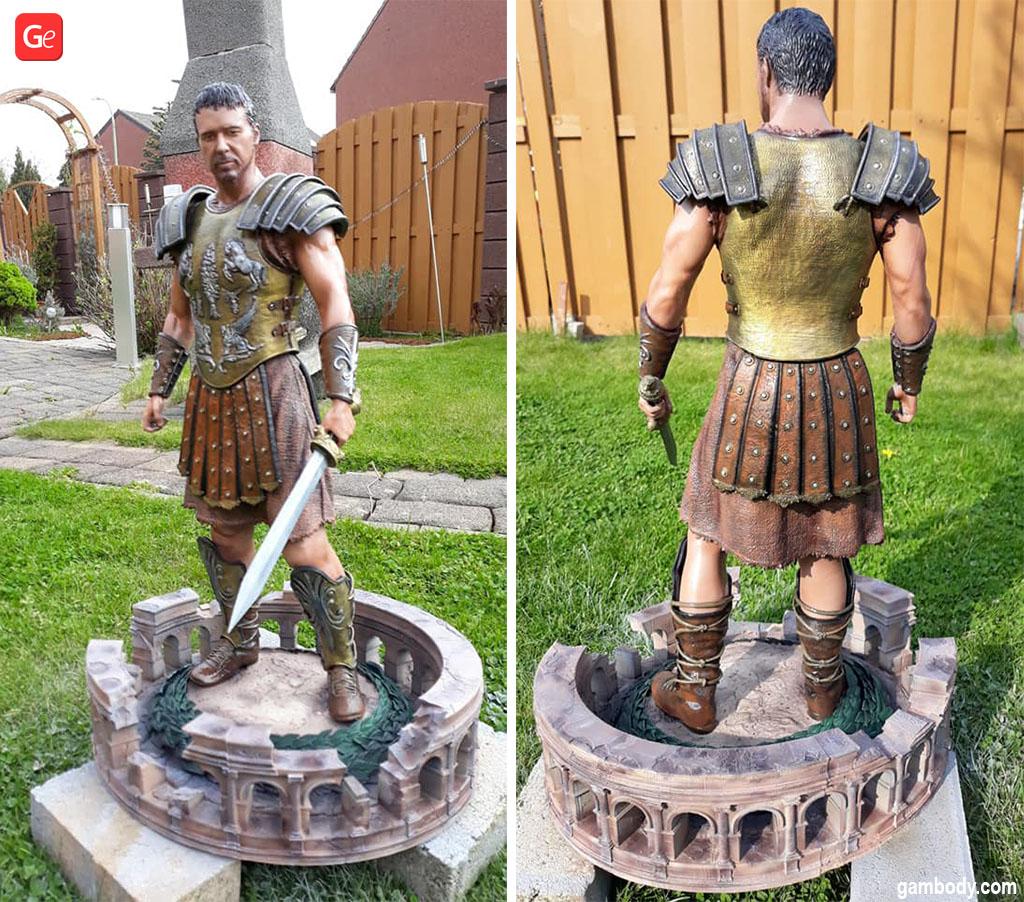 Gladiator 3D printed model