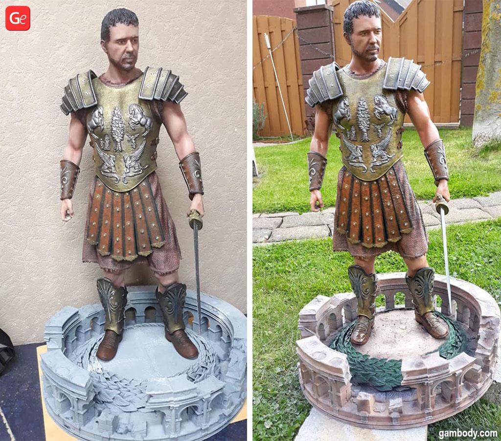 Gladiator Maximus Decimus Meridius 3D printed model