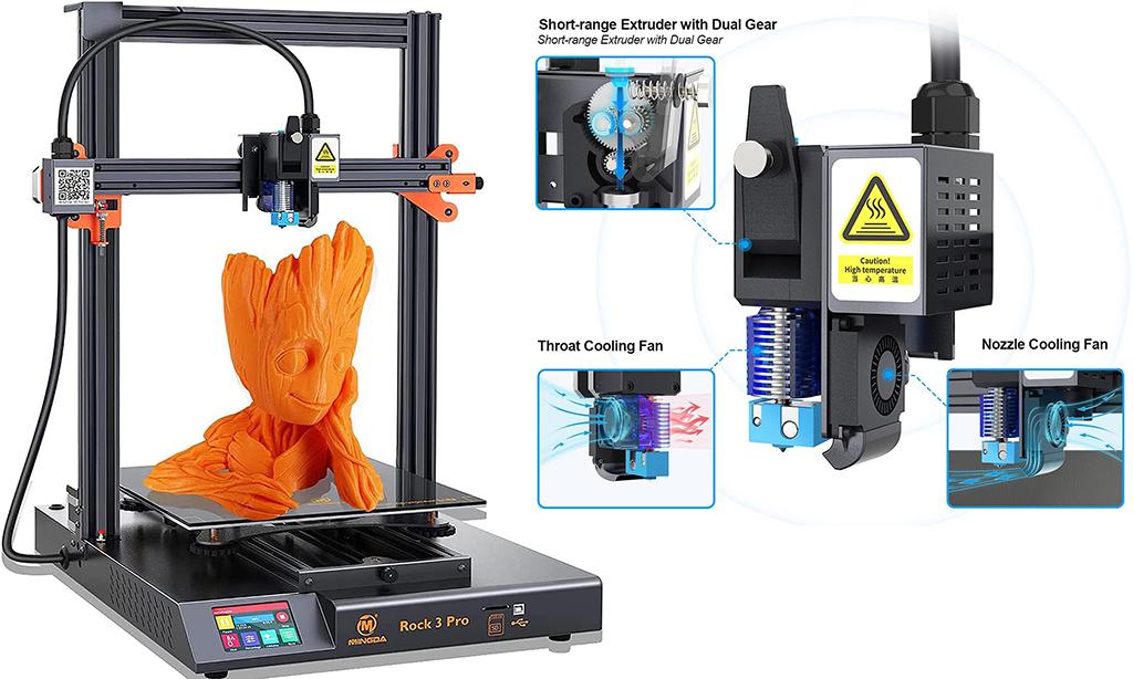 $600 3D printer Mingda Rock 3 Pro