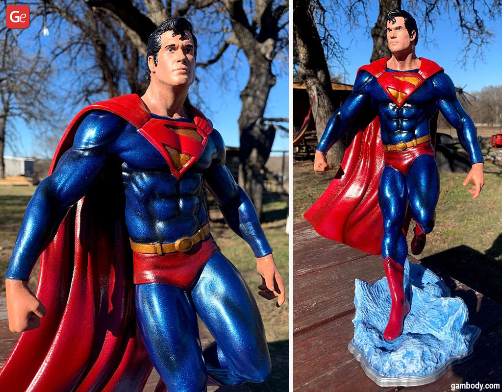 Superman what to 3D print for comic fans
