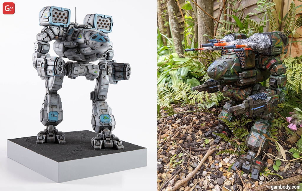 MWO Timber Wolf 3D prints