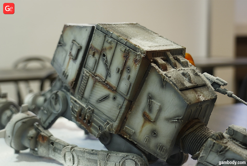 3D print figures AT-AT Walker