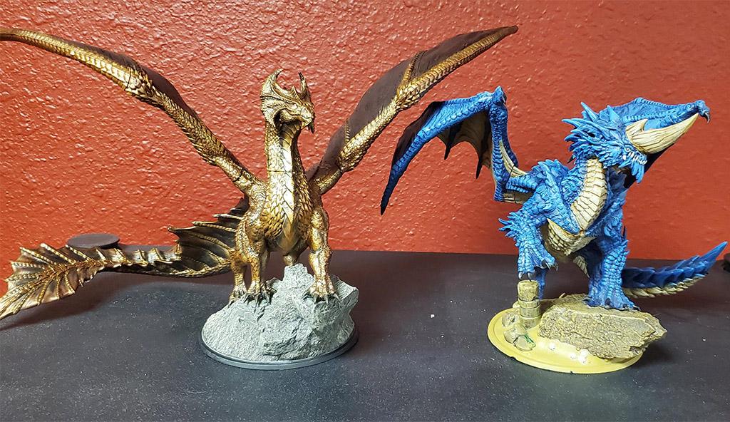 D&D dragon 3D prints