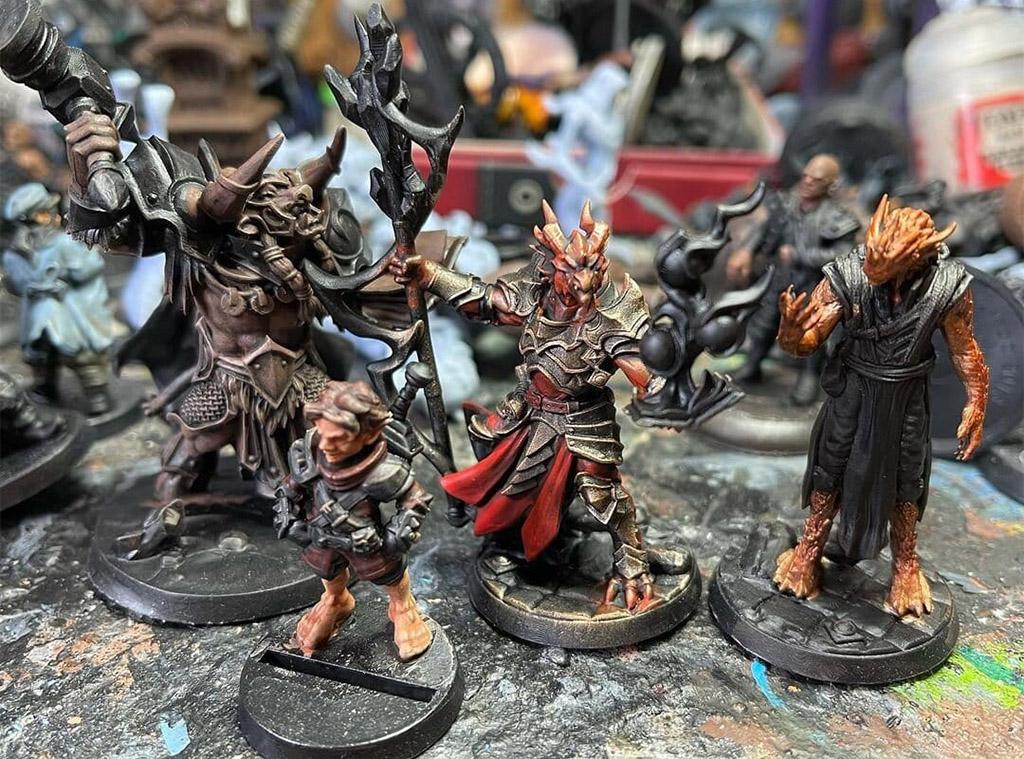 D&D character pieces