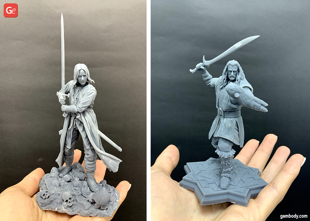 Lord of the Rings character pieces D&D