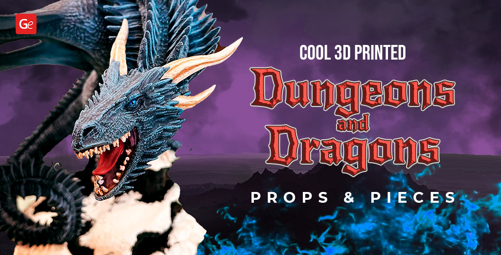 Cool 3D Printed DnD Props and Pieces: 3D Print Your Dungeons and Dragons World