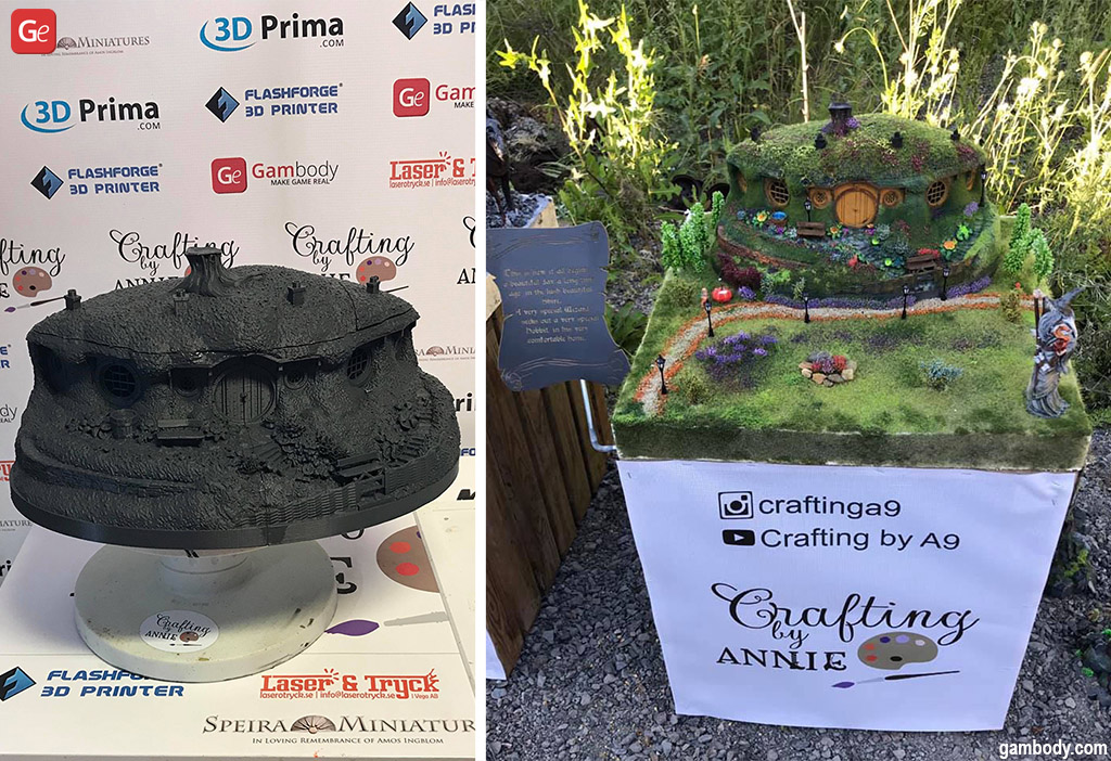 Cool 3D prints Lord of the Rings
