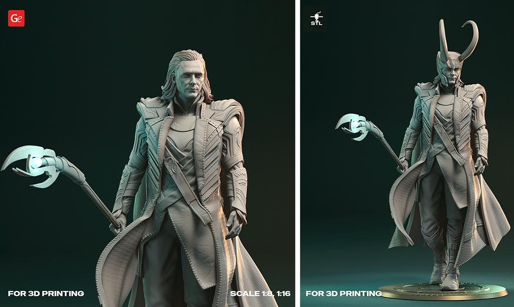 Loki 3D model STL