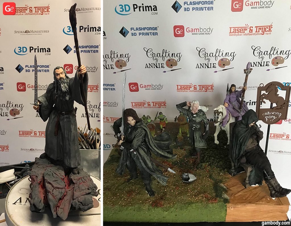 Lord of the Rings statues