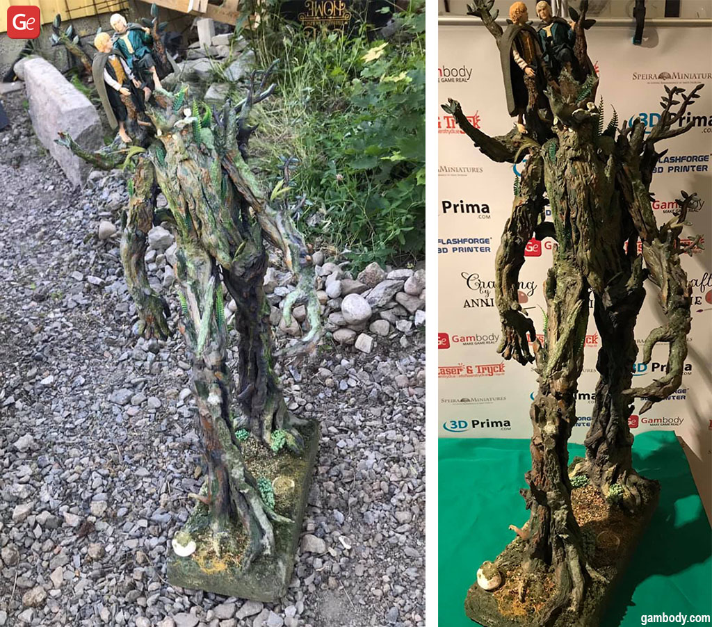 Lord of the Rings tree creatures