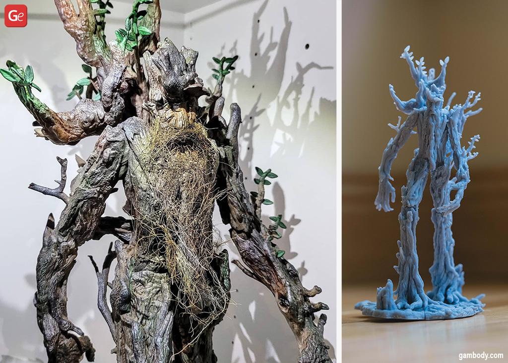D&D designs to 3D print Treebeard