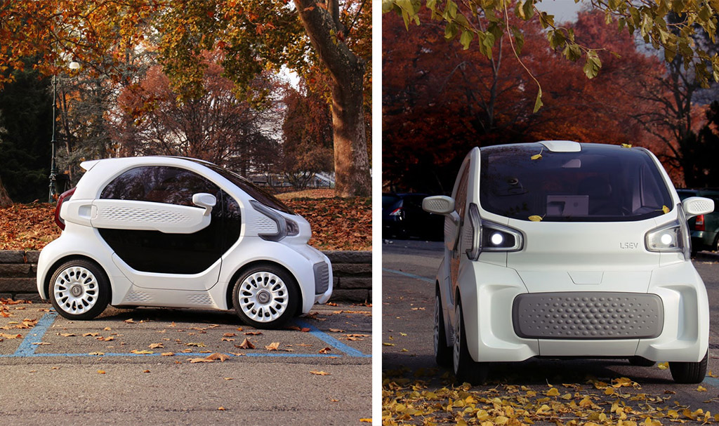 3D printed cars LSEV