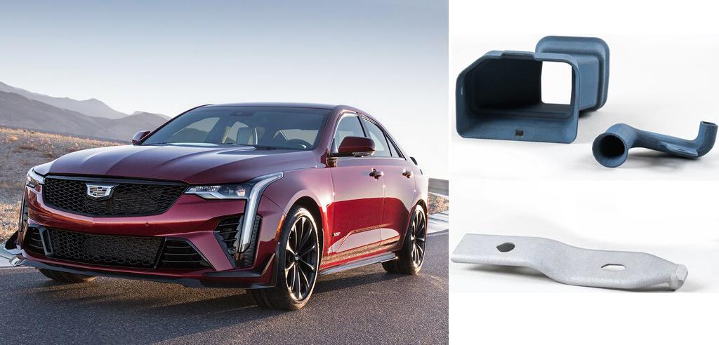 2022 Cadillac Blackwing V-Series with 3D printed car parts