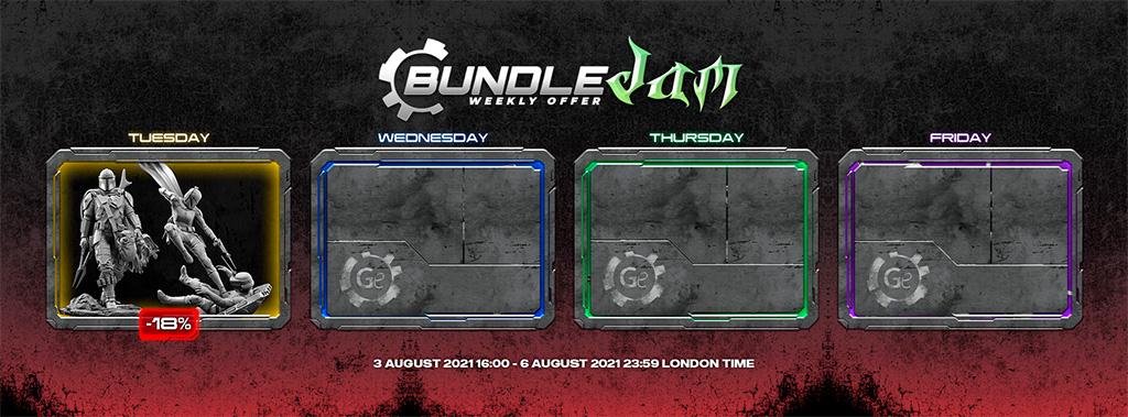 Gambody Bundle Jam main page slider