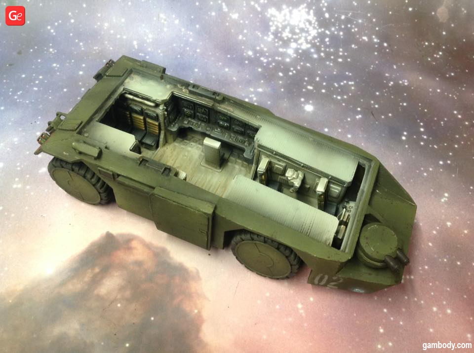 M577 APC 3D printing model
