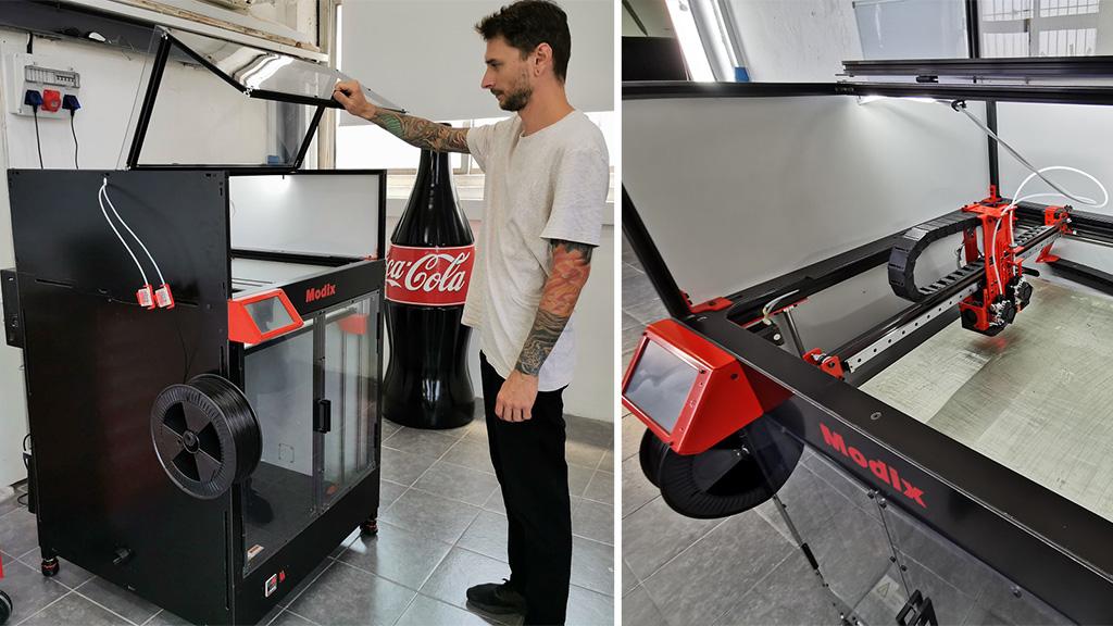 Large 3D printer Modix Big-60
