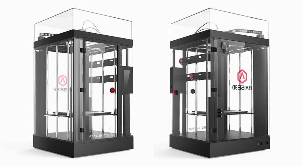 Large scale 3D printer Raise3D Pro2 Plus