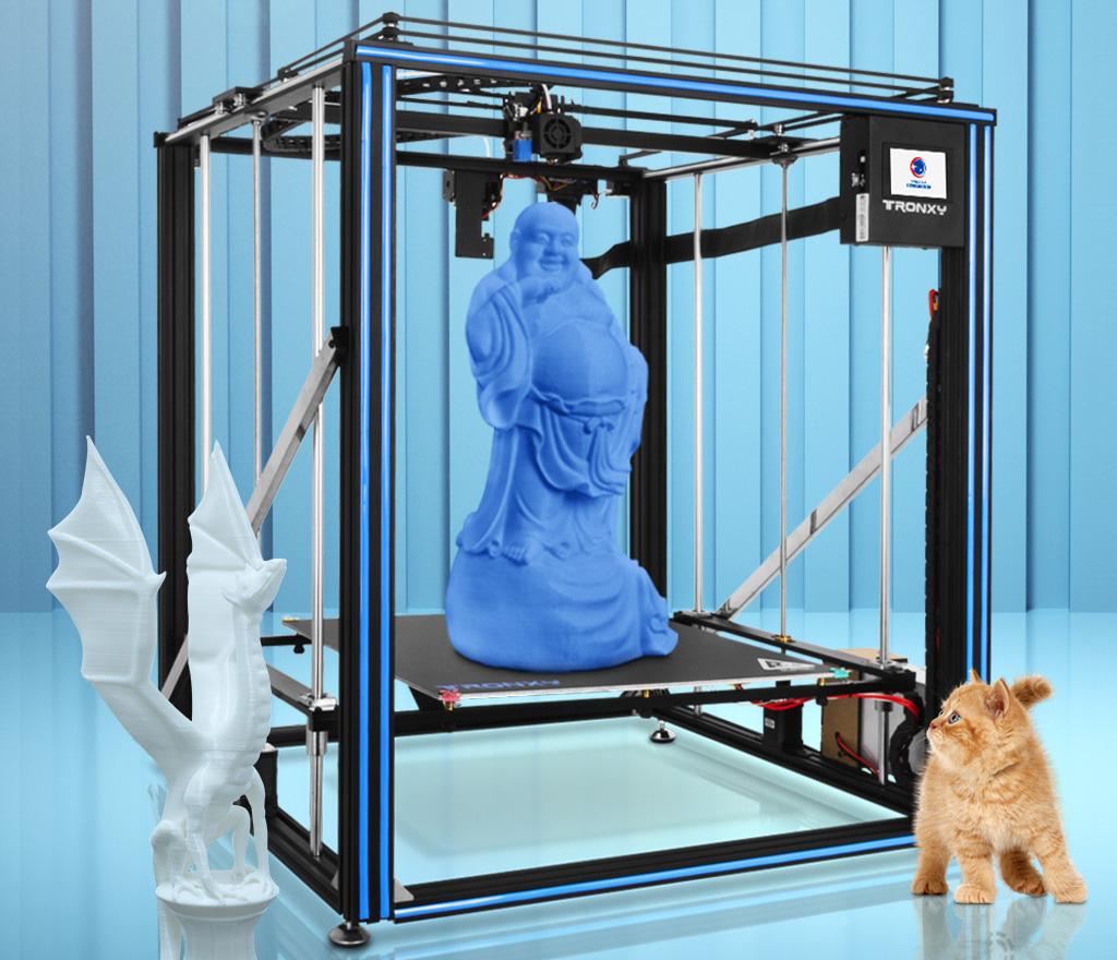 Large format 3D printer Tronxy X5SA-500 Pro