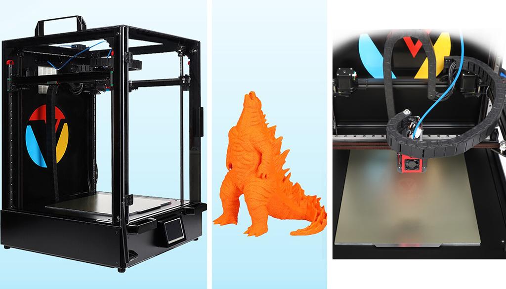 Large volume 3D printer Vivedino Troodon CoreXY