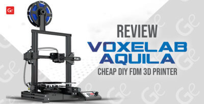 Review of Voxelab Aquila 3D Printer: Cheap 3D Printer for Beginners