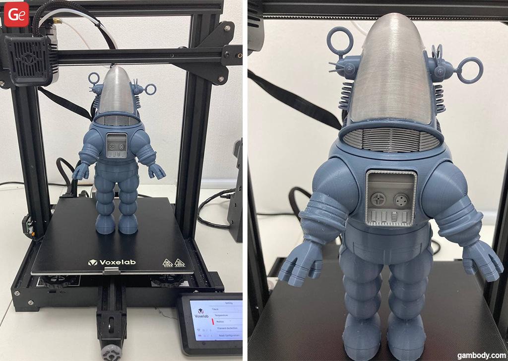 Robby the Robot 3D printer model