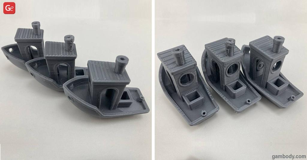 3D Benchy print settings