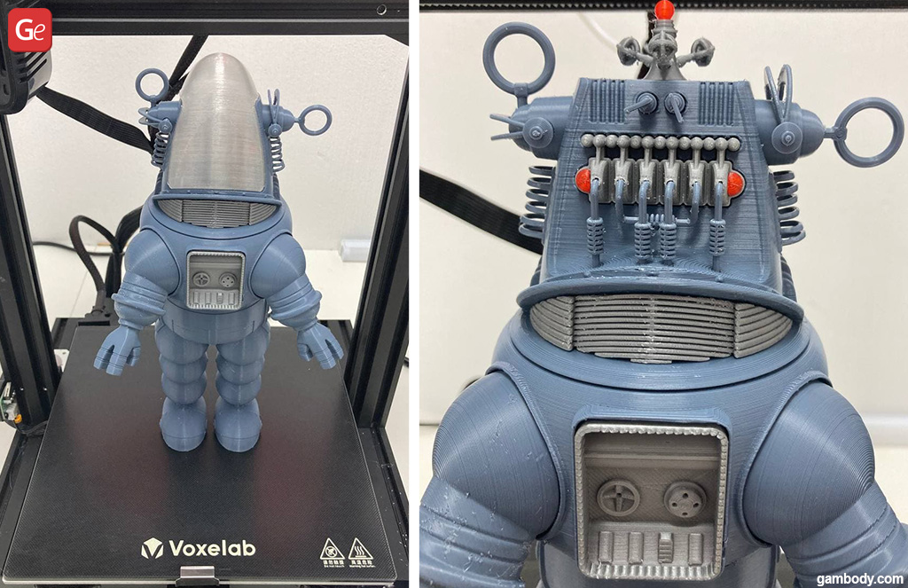 Robby the Robot 3D print