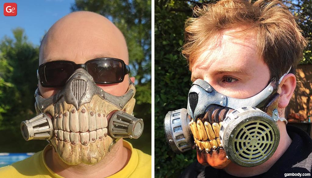 Immortan Joe 3D printed Halloween mask